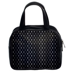 Rabstol Net Black White Space Light Classic Handbags (2 Sides) by Mariart
