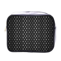 Rabstol Net Black White Space Light Mini Toiletries Bags by Mariart