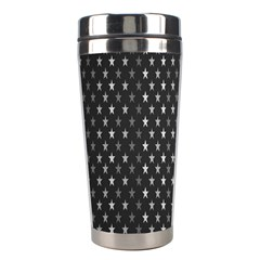 Rabstol Net Black White Space Light Stainless Steel Travel Tumblers by Mariart