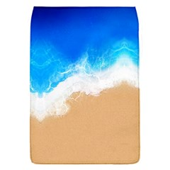 Sand Beach Water Sea Blue Brown Waves Wave Flap Covers (s)  by Mariart