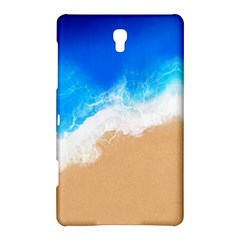 Sand Beach Water Sea Blue Brown Waves Wave Samsung Galaxy Tab S (8 4 ) Hardshell Case  by Mariart