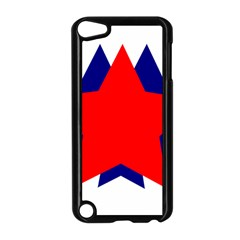Stars Red Blue Apple Ipod Touch 5 Case (black) by Mariart
