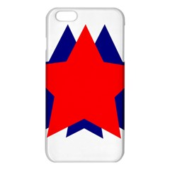 Stars Red Blue Iphone 6 Plus/6s Plus Tpu Case by Mariart