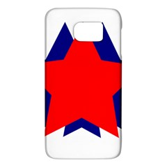 Stars Red Blue Galaxy S6 by Mariart