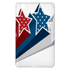 Star Red Blue White Line Space Samsung Galaxy Tab Pro 8 4 Hardshell Case by Mariart