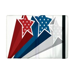 Star Red Blue White Line Space Ipad Mini 2 Flip Cases by Mariart