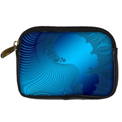 Fractals Lines Wave Pattern Digital Camera Cases by Nexatart