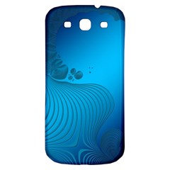 Fractals Lines Wave Pattern Samsung Galaxy S3 S Iii Classic Hardshell Back Case by Nexatart