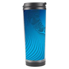 Fractals Lines Wave Pattern Travel Tumbler