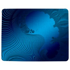 Fractals Lines Wave Pattern Jigsaw Puzzle Photo Stand (rectangular) by Nexatart