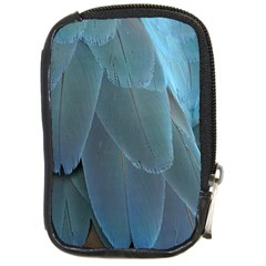 Feather Plumage Blue Parrot Compact Camera Cases by Nexatart
