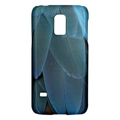 Feather Plumage Blue Parrot Galaxy S5 Mini