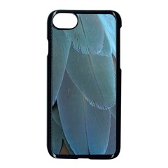 Feather Plumage Blue Parrot Apple Iphone 7 Seamless Case (black) by Nexatart