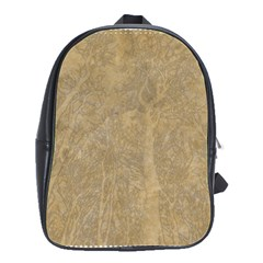 Abstract Forest Trees Age Aging School Bags(large)