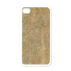 Abstract Forest Trees Age Aging Apple Iphone 4 Case (white) by Nexatart
