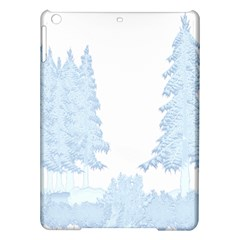 Winter Snow Trees Forest Ipad Air Hardshell Cases