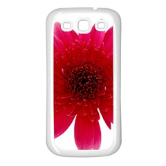 Flower Isolated Transparent Blossom Samsung Galaxy S3 Back Case (white) by Nexatart