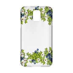 Birthday Card Flowers Daisies Ivy Samsung Galaxy S5 Hardshell Case  by Nexatart