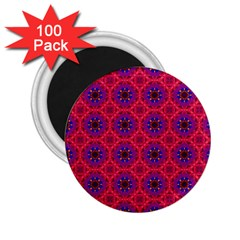 Retro Abstract Boho Unique 2 25  Magnets (100 Pack)  by Nexatart