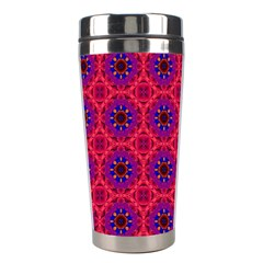 Retro Abstract Boho Unique Stainless Steel Travel Tumblers by Nexatart