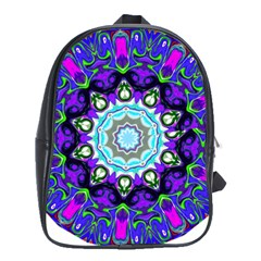 Graphic Isolated Mandela Colorful School Bags (xl)  by Nexatart