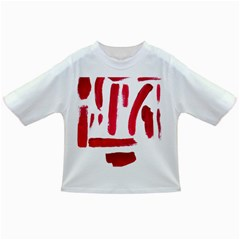 Paint Paint Smear Splotch Texture Infant/toddler T Shirts