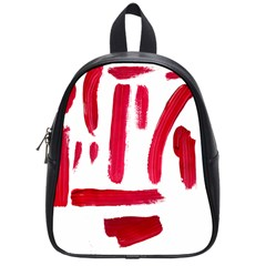Paint Paint Smear Splotch Texture School Bags (small)  by Nexatart