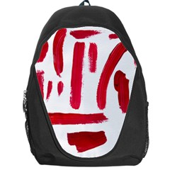 Paint Paint Smear Splotch Texture Backpack Bag by Nexatart