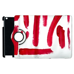 Paint Paint Smear Splotch Texture Apple Ipad 3/4 Flip 360 Case