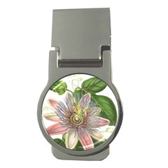 Passion Flower Flower Plant Blossom Money Clips (round)