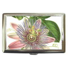 Passion Flower Flower Plant Blossom Cigarette Money Cases by Nexatart
