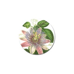 Passion Flower Flower Plant Blossom Golf Ball Marker (4 Pack) by Nexatart