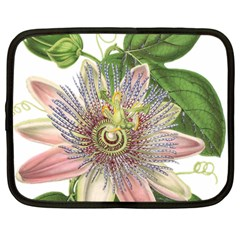 Passion Flower Flower Plant Blossom Netbook Case (large) by Nexatart