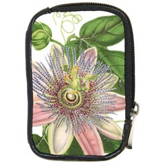 Passion Flower Flower Plant Blossom Compact Camera Cases by Nexatart