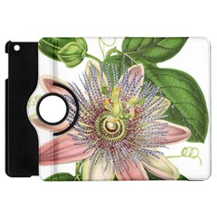 Passion Flower Flower Plant Blossom Apple Ipad Mini Flip 360 Case by Nexatart