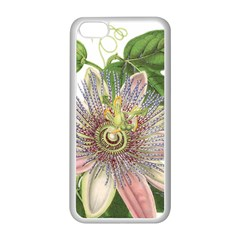 Passion Flower Flower Plant Blossom Apple Iphone 5c Seamless Case (white)