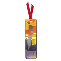 Abstract Vibrant Colour Small Book Marks by Nexatart