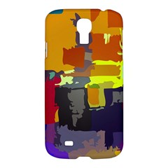 Abstract Vibrant Colour Samsung Galaxy S4 I9500/i9505 Hardshell Case by Nexatart