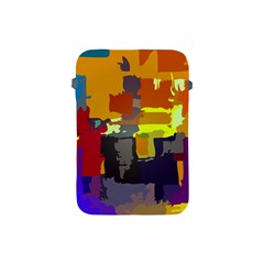 Abstract Vibrant Colour Apple Ipad Mini Protective Soft Cases by Nexatart