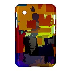 Abstract Vibrant Colour Samsung Galaxy Tab 2 (7 ) P3100 Hardshell Case  by Nexatart