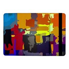 Abstract Vibrant Colour Samsung Galaxy Tab Pro 10 1  Flip Case by Nexatart