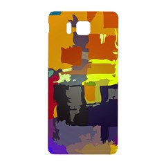 Abstract Vibrant Colour Samsung Galaxy Alpha Hardshell Back Case by Nexatart