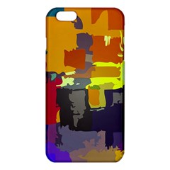 Abstract Vibrant Colour Iphone 6 Plus/6s Plus Tpu Case by Nexatart