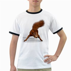 Squirrel Wild Animal Animal World Ringer T Shirts