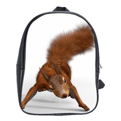 Squirrel Wild Animal Animal World School Bags(large)  by Nexatart