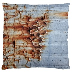 Peeling Paint       Large Flano Cushion Case (two Sides) by LalyLauraFLM