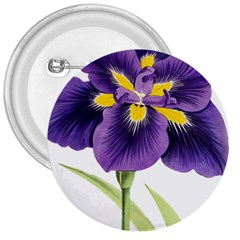Lily Flower Plant Blossom Bloom 3  Buttons by Nexatart