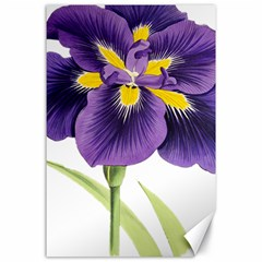 Lily Flower Plant Blossom Bloom Canvas 24  X 36
