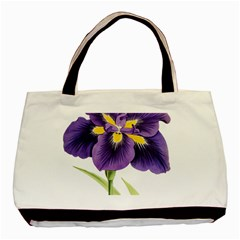 Lily Flower Plant Blossom Bloom Basic Tote Bag (two Sides) by Nexatart