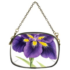 Lily Flower Plant Blossom Bloom Chain Purses (two Sides)